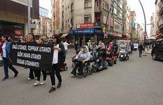 Kadınlardan çocuk istismarları olaylarına tepki