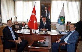 Sağlık-Sen Genel Başkanı Semih Durmuş'dan ziyaret