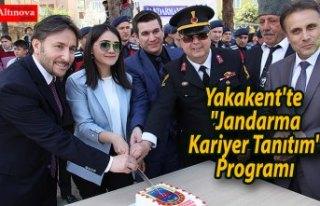 "Yakakent'te ""Jandarma Kariyer Tanıtım""..."