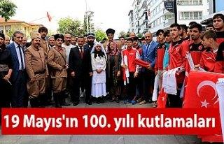 19 Mayıs'ın 100. yılı kutlamaları