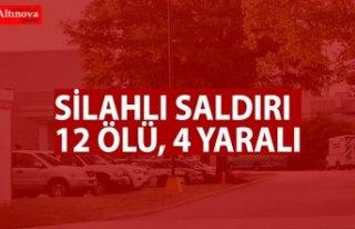 Silahlı saldırı: 12 ölü, 4 yaralı