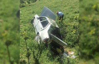 Sinop'ta bayram tatili dönüşü kaza: 7 yaralı
