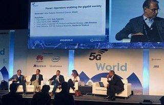 Türk Telekom 5G Dünya Zirvesi'nde