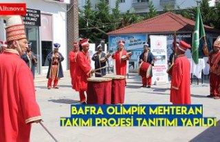 Bafra Olimpik Mehteran Takımı Projesi Tanıtımı...