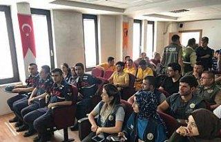 Sinop'da orman işletme personeline yangın eğitimi
