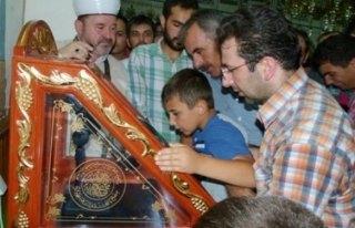 Bafra'da Sakalı Şerif İzdihamı