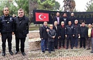 BAFRA DERNEKLER FEDERASYONU BADEF'TEN POLİSLERİMİZE...
