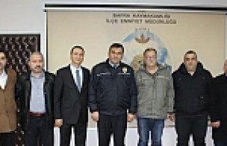 """Bafra Diriliş Başkanları; """"Polisimin Yanındayım"""""""