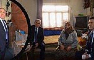 Bafra'da Yaşlılarımıza Şefkat Eli Projesi