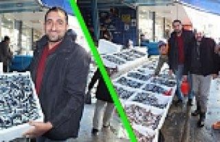 Bafra'da Yerli Hamsi Tezgâhlara Geri Döndü