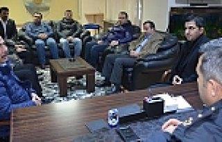 MHP Bafra İlçe Teşkilatından Emniyet Müdürüne...