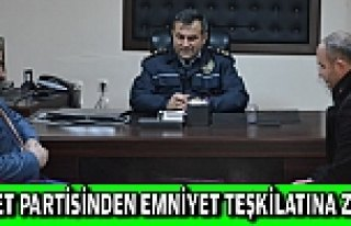 Saadet Partisi İlçe Teşkilatı Emniyet Müdürü...