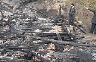 Samsun'da ev yangını: 1 ölü