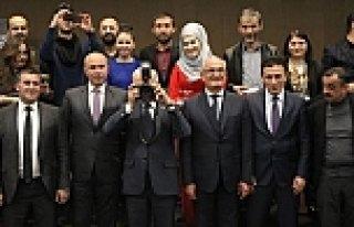Samsun'da medya ödül töreni