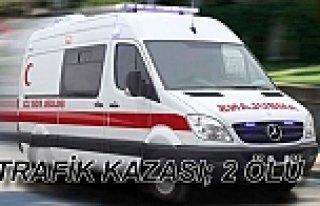 Samsun'da trafik kazası: 2 ölü