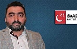 SP BAFRA İLÇE BAŞKANI MUSTAFA ÖCAL'DAN GAZETECİLER...