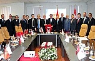 TFF Yönetim Kurulunun Toplantısı Samsun'da Yapıldı