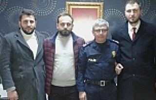 TÜGVA'dan Çevik Kuvvet Polisine Ziyaret