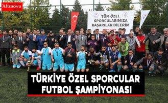Türkiye Özel Sporcular Futbol Şampiyonası