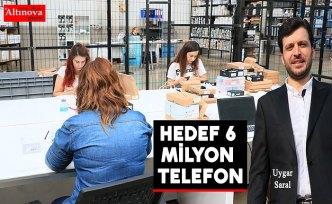 Reeder'ın hedefi yılda 6 milyon akıllı cep telefonu üretmek