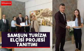 Samsun Turizm Elçisi projesi tanıtımı
