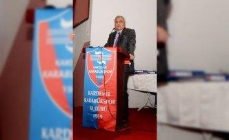 Kardemir Karabükspor'da Mehmet Yüksel yeniden başkan