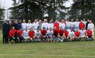 Trabzonspor'da yönetim ve teknik heyet, Tıp Bayramı etkinliğinde