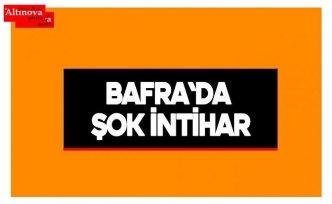 Bafra'da intihar