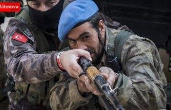 Afrin polisinin özel timine 'özel eğitim'