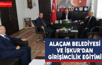 Alaçam Belediyesi ve İşkur`dan Girişimcilik Eğitimi