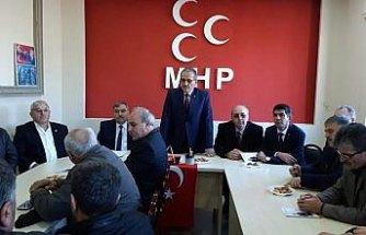 MHP Kavak İlçe Başkanlığı İstişare Toplantısı