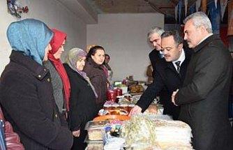 AK Partili kadınların yerli ürün pazarı