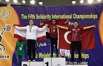 Milli halterciye uluslararası şampiyonada bronz madalya