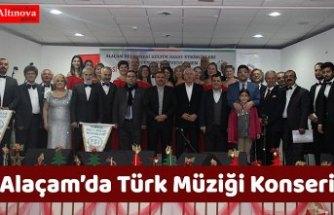Alaçam'da Türk Müziği Konseri