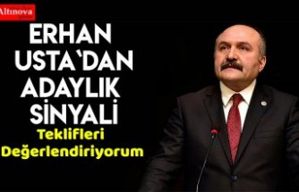MHP'den ihraç edilen Erhan Usta'dan 'adaylık' sinyali