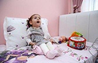 Minik Zümra'nın ailesinin yüzü devlet desteğiyle güldü