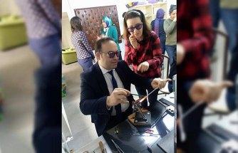 Samsun Milli Eğitim Müdür Yardımcısı Erdin, Ladik HEM'i ziyaret etti