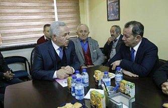 Tanju Özcan'dan BESOB ve diyaliz merkezine ziyaret