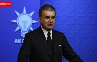 AK Parti Sözcüsü Çelik: Kaşıkçı cinayetinde yeterli iş birliğiyle karşı karşıya değiliz