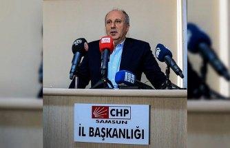 CHP'li Muharrem İnce, Samsun'da aday tanıtım toplantısına katıldı