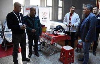 Ordu emniyetinden kan bağışı