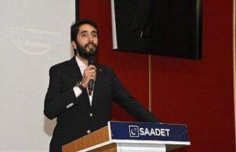 Saadet Partisi Gümüşhane aday tanıtım toplantısı