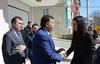 AK Parti Genel Başkan Yardımcısı Çiğdem Karaaslan'dan taziye ziyareti