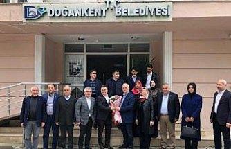 AK Parti Giresun Milletvekili Aydın, ilçe ziyaretlerini sürdürdü
