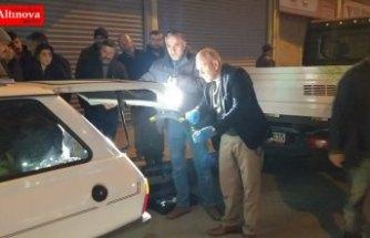 Bafra'da otomobilden hırsızlık