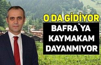 Bafra Kaymakamı Trabzon`a gidiyor