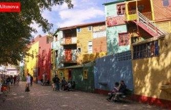 Buenos Aires'in renk cümbüşü: La Boca