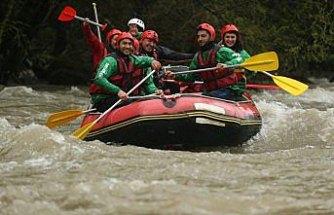 Melen Çayı'nda rafting heyecanı