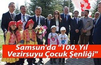 """Samsun'da """"100. Yıl Vezirsuyu Çocuk Şenliği"""""""