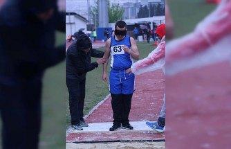 Türkiye Görme Engelliler Atletizm Şampiyonası Samsun'da başladı